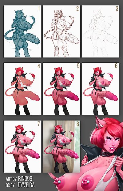 Artist - Rino99 - part 9