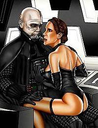 Star wars porn cartoons - part 3311