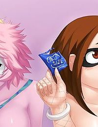 Ochako And Ashido Part-Time Job