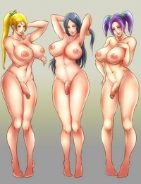 Flaccid anime shemale cocks - part 10