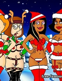 Famous toons christmas orgy - part 7