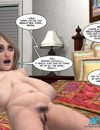 Fat lesbian action in these comics - part 6